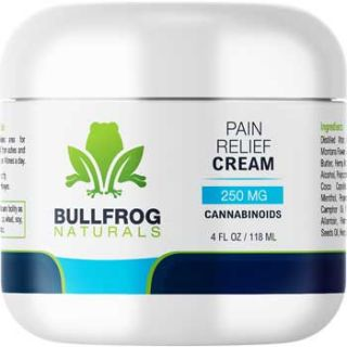 Pain Relief Cooling Cream With Hemp Oil