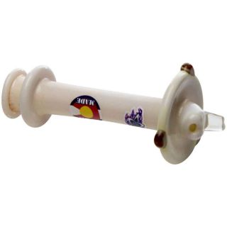 Glass Pipe Accessories SS009-WHT Terp Spinners - White