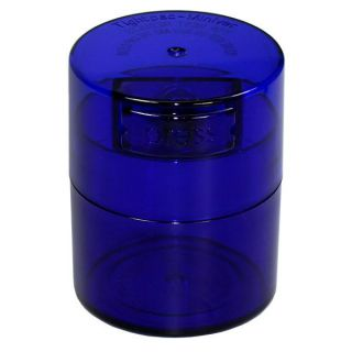 Containers TV1-CBT Blue Tint Cap & Body - 1.5OZ