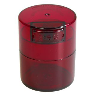 Containers TV1-CRT Red Tint Cap & Body - 1.5OZ