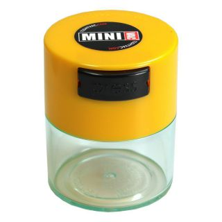 Containers TV1-CYE Yellow Cap / Clear Body -1.5OZ